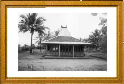 rumah joglo di pesisir selatan kebumen, daerah karang bolong, puring, kebumen